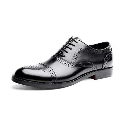 [YIMANIE] ビジネスシューズ メンズ 紳士靴 革靴 ストレートチップ ウイングチップ 本革 内羽根 高級靴 大きいサイズ