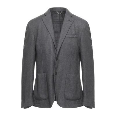 TREND CORNELIANI テーラードジャケット グレー 54 ウール 55% / ポリエステル 45% テーラードジャケット