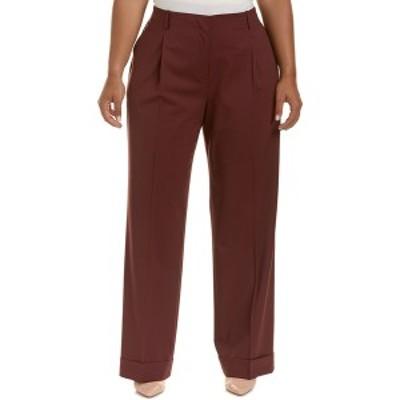 ラファイエットワンフォーエイト レディース カジュアルパンツ ボトムス Lafayette 148 New York Plus Rivington Wool-Blend Pant cabern