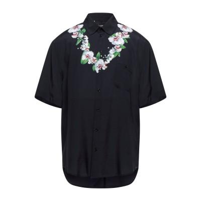 ドルチェ & ガッバーナ DOLCE & GABBANA シャツ ブラック 39 レーヨン 100% シャツ