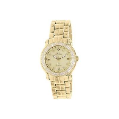 腕時計 スイス プレシマックス スイス Precimax レディース Tribeca ダイヤモンド SP13329 ゴールド ステンレス-スチール スイス クォーツ