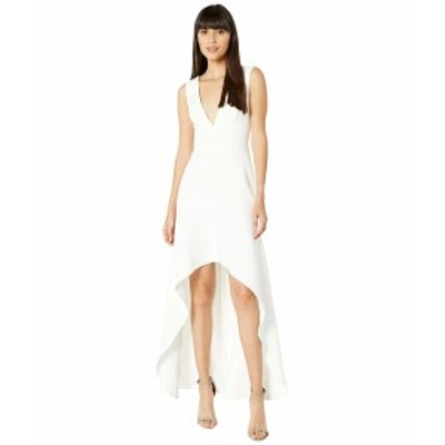 ビーシービージーマックスアズリア レディース ワンピース トップス High-Low Gown Off-White