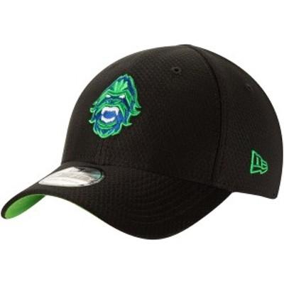 ニューエラ メンズ 帽子 アクセサリー Vancouver Titans New Era Overwatch League Official Player Buttonless 39THIRTY Flex Hat  Blac