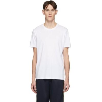 ヒューゴ ボス Hugo メンズ Tシャツ トップス white dero t-shirt White