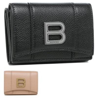 バレンシアガ 財布 三つ折り財布 アワーグラス レディース BALENCIAGA 600212 1IZHY 1IZHM【返品OK】