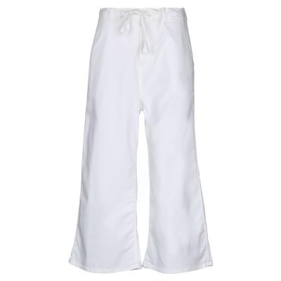 ロイ ロジャース ROŸ ROGER'S パンツ ホワイト 27 コットン 95% / ポリウレタン 5% パンツ