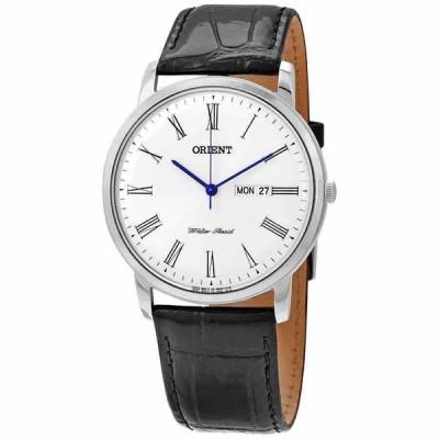 オリエント 腕時計 Orient Capital Version 2 White ホワイト Dial メンズ Watch FUG1R009W6