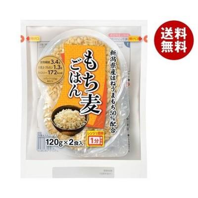 送料無料 越後製菓 もち麦ごはん 240g(120g×2食)×6袋入