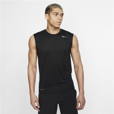 ノースリーブシャツ メンズ/ NIKE ナイキ ドライフィット レジェンド Tシャツ 男性用 袖なし スポーツ トレーニング ジム ランニング /718836-010