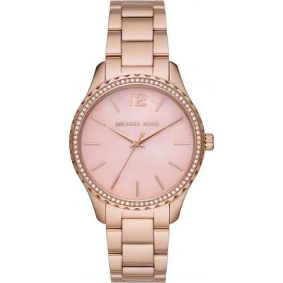 マイケル コース MICHAEL KORS レディース 腕時計 Layton Bracelet Watch, 38mm Rose Gold/Pink Mop/Rose Gold