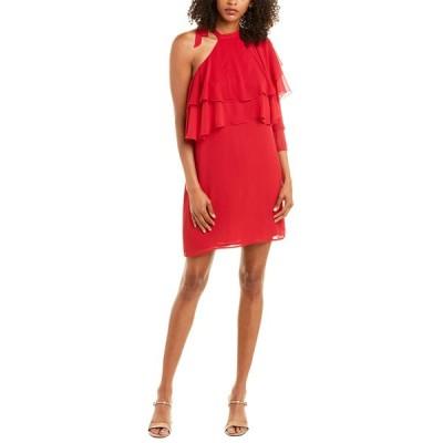ワイフ ワンピース トップス レディース WAYF One-Shoulder Dress red