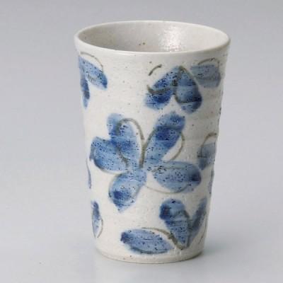 業務用食器 花園藍フリーカップ φ8×11.5�(約300�)