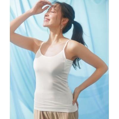 Lingerie by GeeRA / ひんやり冷感!汗取り付クールキャミソール WOMEN アンダーウェア > その他アンダーウェア/インナー