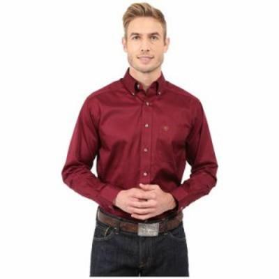 アリアト その他シャツ Solid Twill Shirt Burgundy