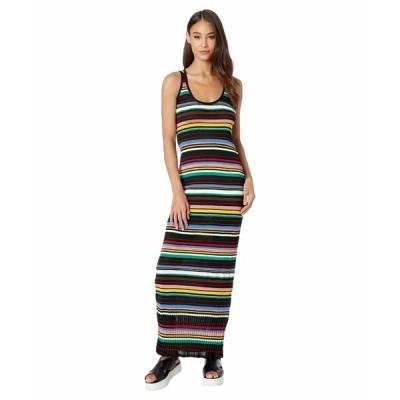 エム ミッソーニ ワンピース トップス レディース Striped Sleeveless Long Dress Multicolor
