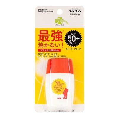 くらしリズム 近江兄弟社 メンターム サンベアーズ ストロング スーパープラスN 日焼け止め 顔・からだ用 30g   SPF50+ PA++++