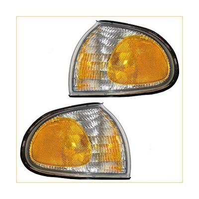 Driver and Passenger Signal Side Marker Lights Lamps Replacement for Ford Van F58Z 15A201 B F58Z 15A201 A 並行輸入品