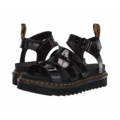 Dr. Martens ドクターマーチン レディース 女性用 シューズ 靴 サンダル Blaire Black Patent Lamper【送料無料】