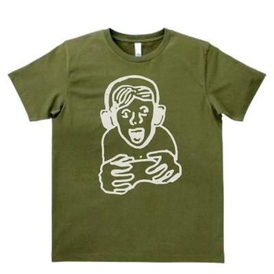 デザイン Tシャツ ゲーマー カーキー MLサイズ