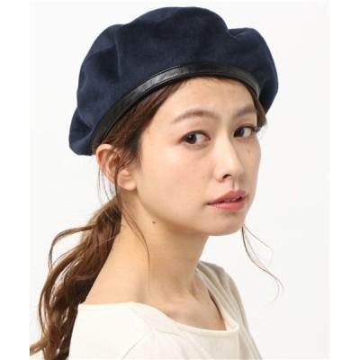 U.Q / アーミーベレー帽 WOMEN 帽子 > ハンチング/ベレー帽