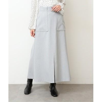 FREE'S MART / 【Sシリーズ対応】◆麻調ナローマーメイドフロントスリットスカート WOMEN スカート > スカート