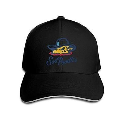 Amarillo Sod Poodles Unisex Casual Baseball Cap Adjustable Hip Hop Trucker Sandwich Hat Golf Sports for Men Women Black