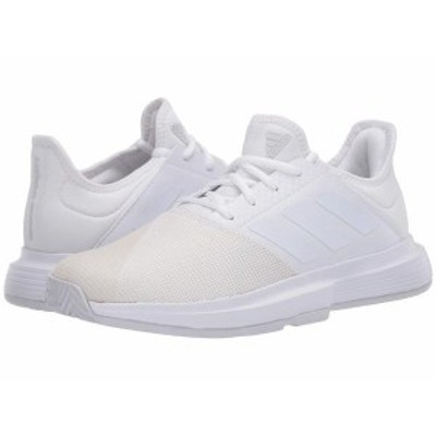 アディダス レディース スニーカー シューズ GameCourt Footwear White/