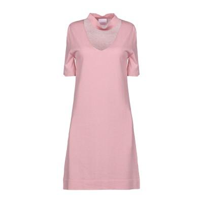 BELLWOOD ミニワンピース&ドレス ピンク 40 コットン 100% ミニワンピース&ドレス
