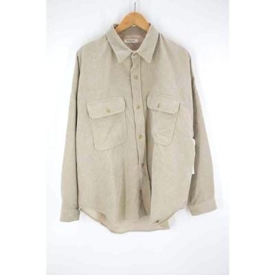 フリークスストア FREAKS STORE オーバーサイズコーデュロイシャツジャケット レディース FREE 中古 古着 210611