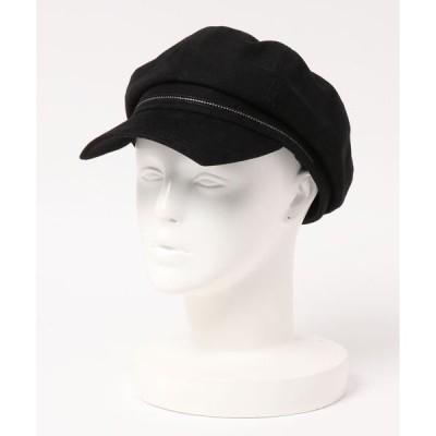 帽子 キャスケット 無地キャスケット