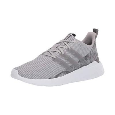 adidas mens Questar Flow Sneaker Running Shoe, Grey/Grey/Grey, 13 US【並行輸入品】
