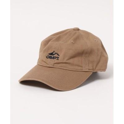 Right-on / 【CAMP7】ロゴ刺繍キャップ KIDS 帽子 > キャップ