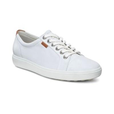 エコー レディース スニーカー シューズ Women's Soft 7 Sneakers White
