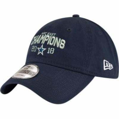 New Era ニュー エラ スポーツ用品  New Era Dallas Cowboys Navy 2018 NFC East Division Champions 9TWENTY Adjustable Hat