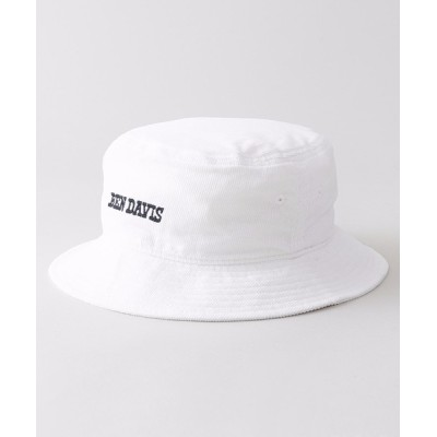 LB/S / 【BEN DAVIS/ベンデイビス】コーデュロイバケットハット  サイズ調整機能付き ブランドロゴ 刺繍 MEN 帽子 > ハット