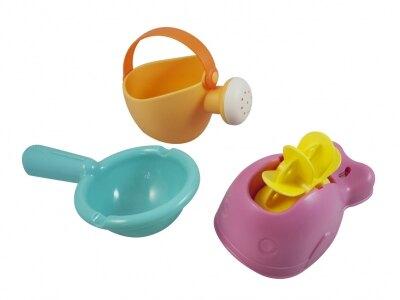 Toyroyal樂雅 Flex洗澡系列-歡樂水車組/洗澡玩具/沙灘玩具★愛兒麗婦幼用品★