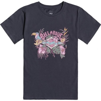 ビラボン Billabong レディース Tシャツ トップス Wild Garden Short Sleeve T-Shirt Ink