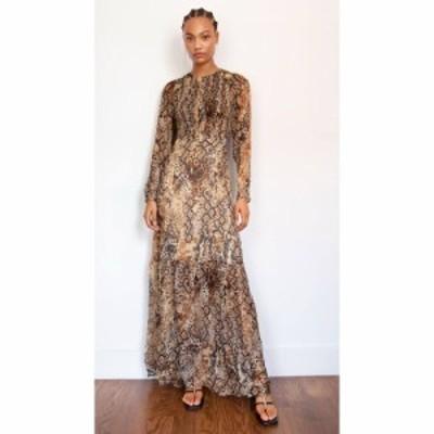 バッシュ Baandsh レディース ワンピース ワンピース・ドレス Rouky Dress Beige