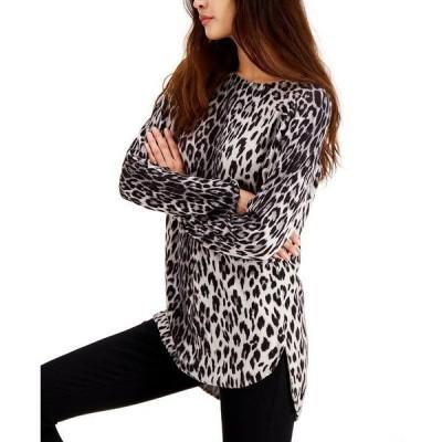 アイエヌシーインターナショナルコンセプト ニット&セーター レディース Grey Leopard