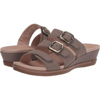 ダンスコ Dansko レディース サンダル・ミュール シューズ・靴 Allyson Stone Textured Nubuck