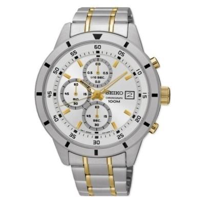 腕時計 セイコー SEIKO SKS563P1,Men's Chronograph,Stainless Steel Case,date,100m WR,SKS563