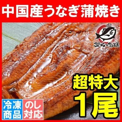 超特大 うなぎ 蒲焼き 平均330g前後 1尾 タレ付き (中国産 うなぎ ウナギ 鰻)