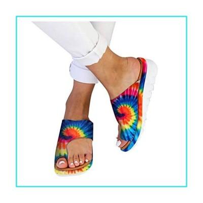 Sandals for Women Wide Width,2020 Comfy Platform Sandal Shoes Comfortable Ladies Shoes Summer Beach Travel Flip Flops【並行輸入品】