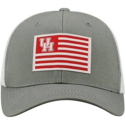 トップ・オブ・ザ・ワールド 帽子 アクセサリー メンズ Top of the World Men's University of Houston Brave Snapback Cap Grey Light 01