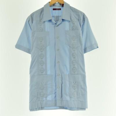 SOBRINO オープンカラー 半袖 キューバシャツ メンズL 【中古】 【200626】 /eaa051081