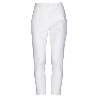 BLUKEY パンツ ホワイト 42 コットン 97% / 伸縮繊維 3% パンツ