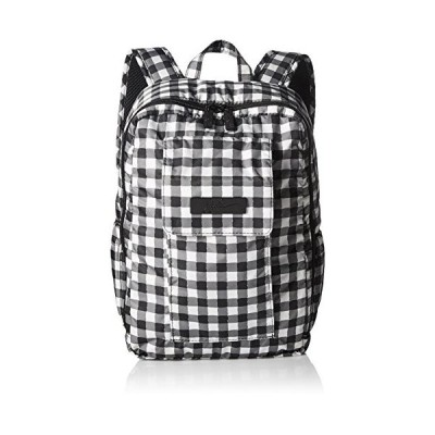 JuJuBe MiniBe Small Backpack, Onyx Collection - Gingham Style 並行輸入品
