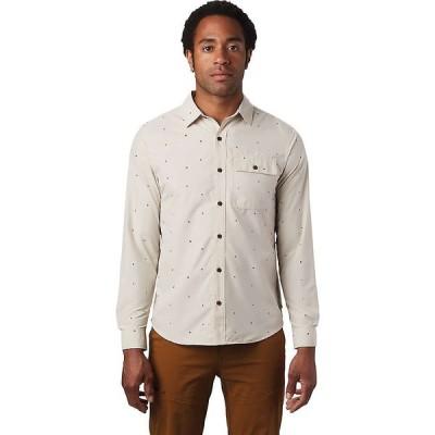 マウンテンハードウェア Mountain Hardwear メンズ 長袖Tシャツ トップス Greenstone LS Shirt Lightlands Dot Scatter Prt