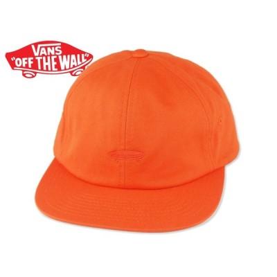 ☆VANS【バンズ】SALTON II STRAP BACK CAP FLAME ストラップバック オレンジ 15566 [SKATE SK8 スケボー ヴァンズ]