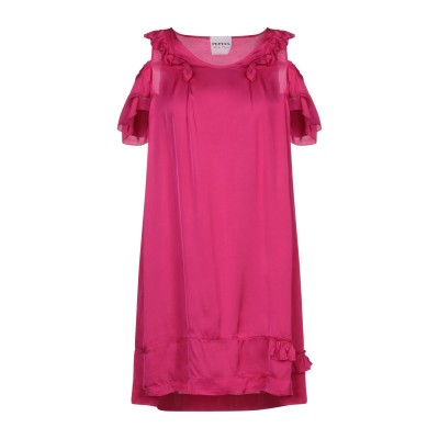 PEPITA ミニワンピース&ドレス フューシャ 40 レーヨン 61% / レーヨン 39% ミニワンピース&ドレス